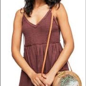 Free People Sundrenched mini dress